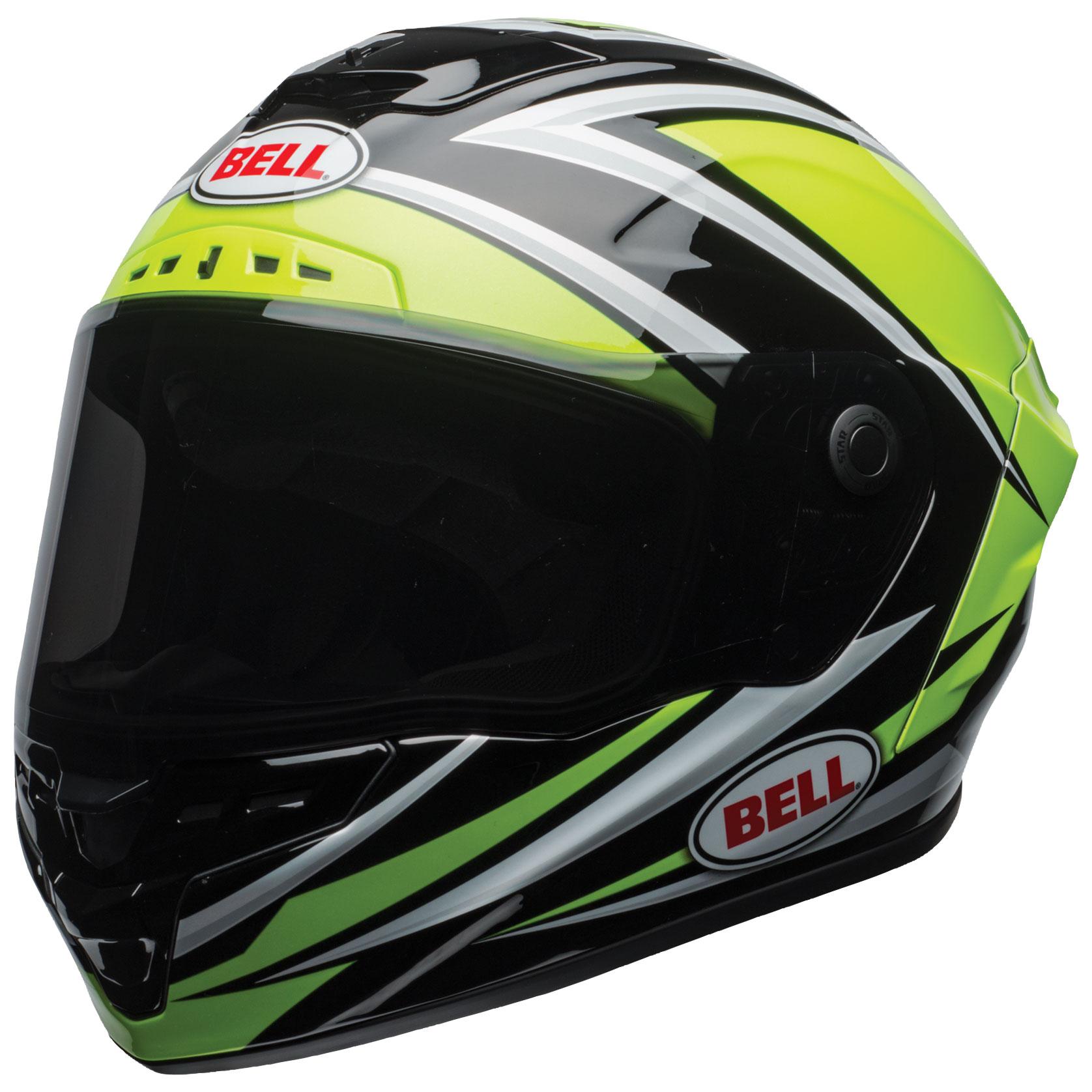 Bell Star MIPS DLX Tortion Hi-Viz Full Face Helmet