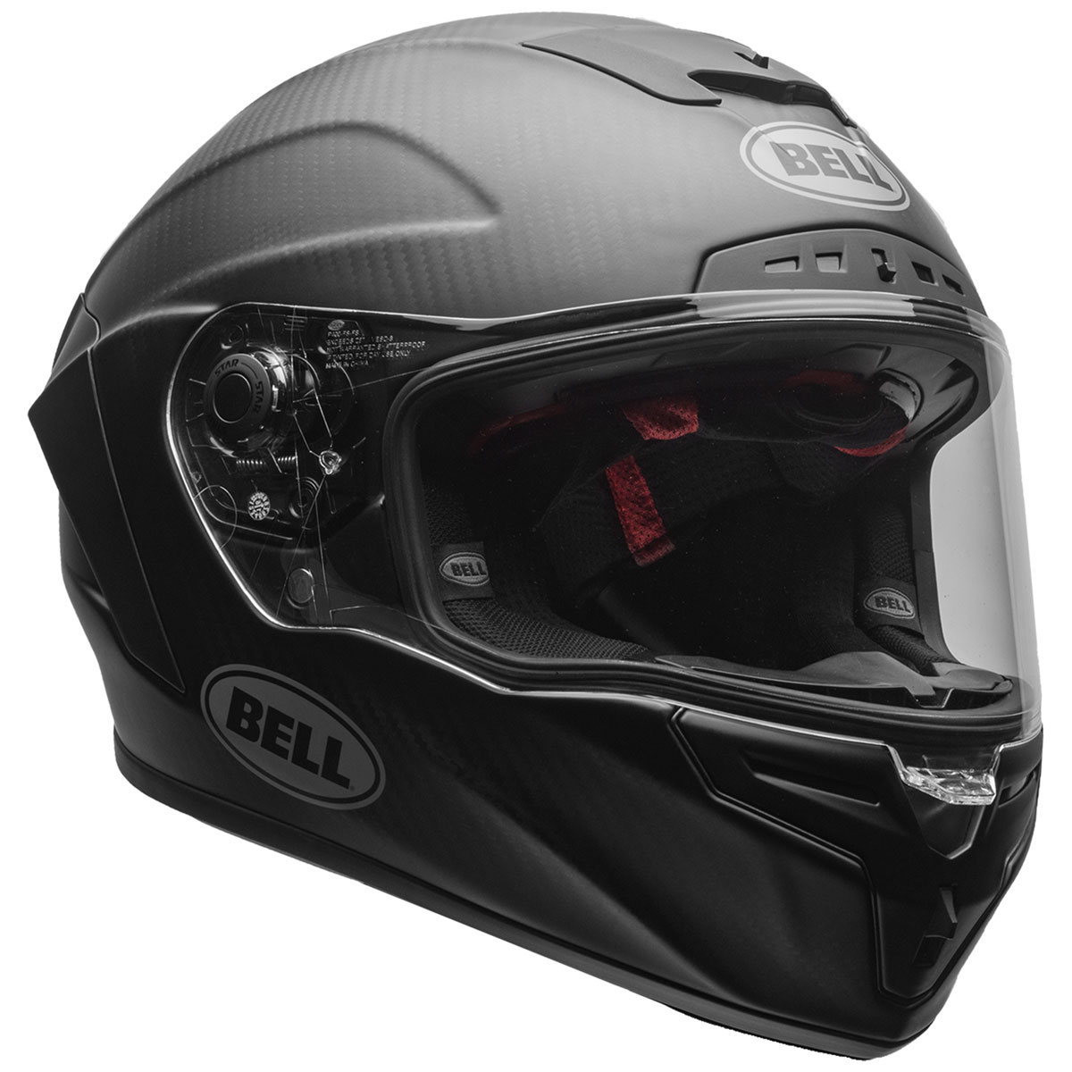 Bell Full Face Helmet >> Bell Race Star Flex Dlx Matte Black Full Face Helmet 7108093