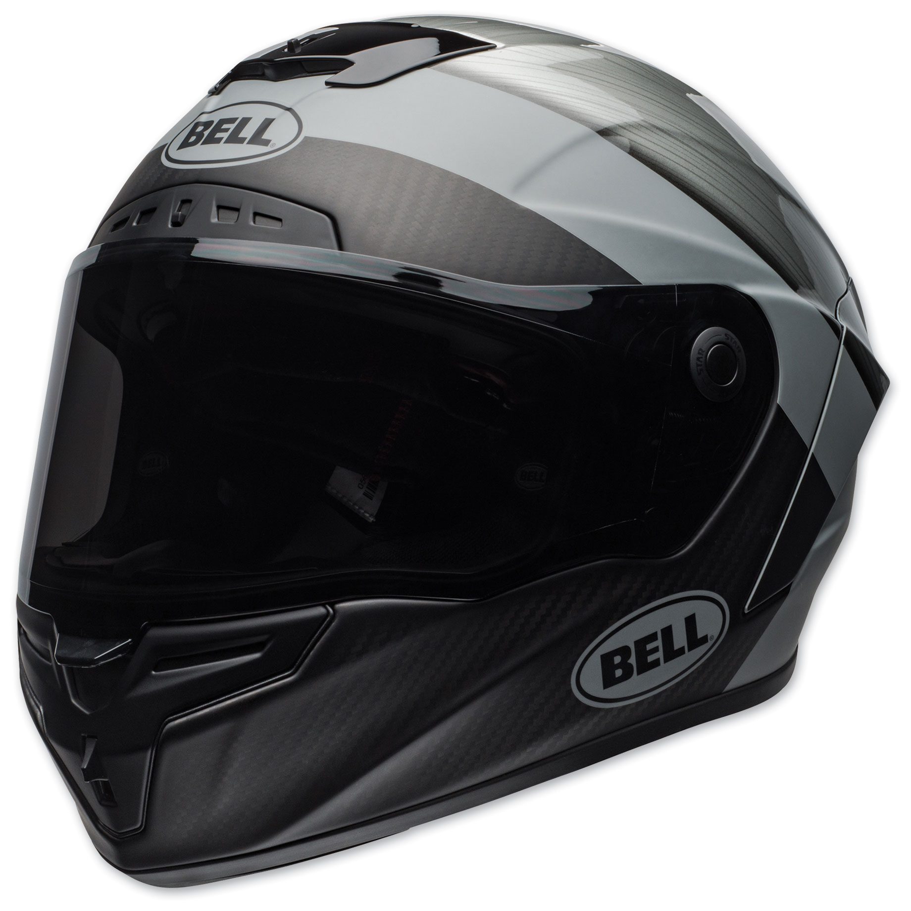 Bell Full Face Helmet >> Bell Race Star Flex Dlx Surge Metal Gray Full Face Helmet 7114491