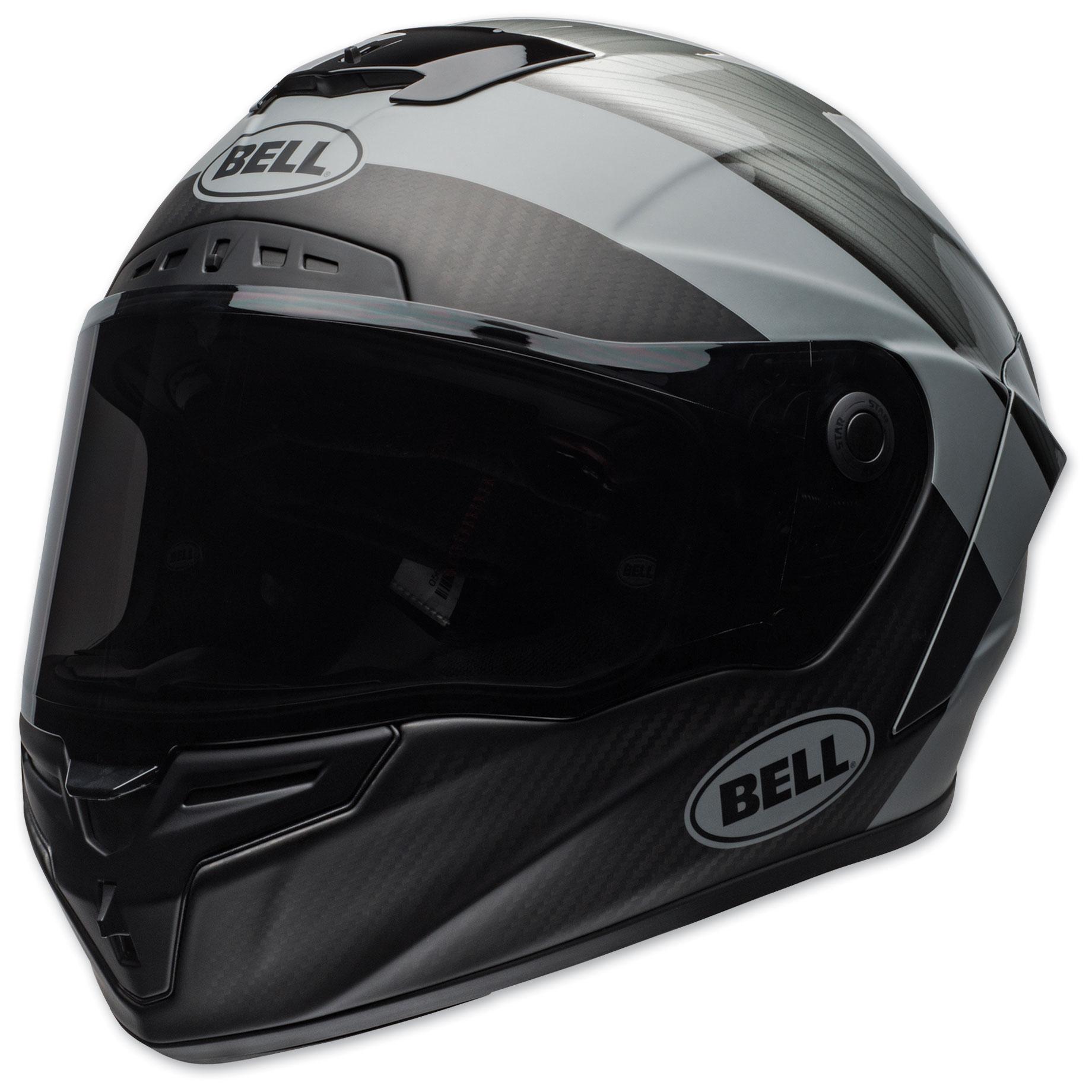 Bell Race Star Flex DLX Surge Metal/Gray Full Face Helmet