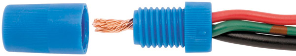 Novello Blue 14-16 Gauge Wire Lock
