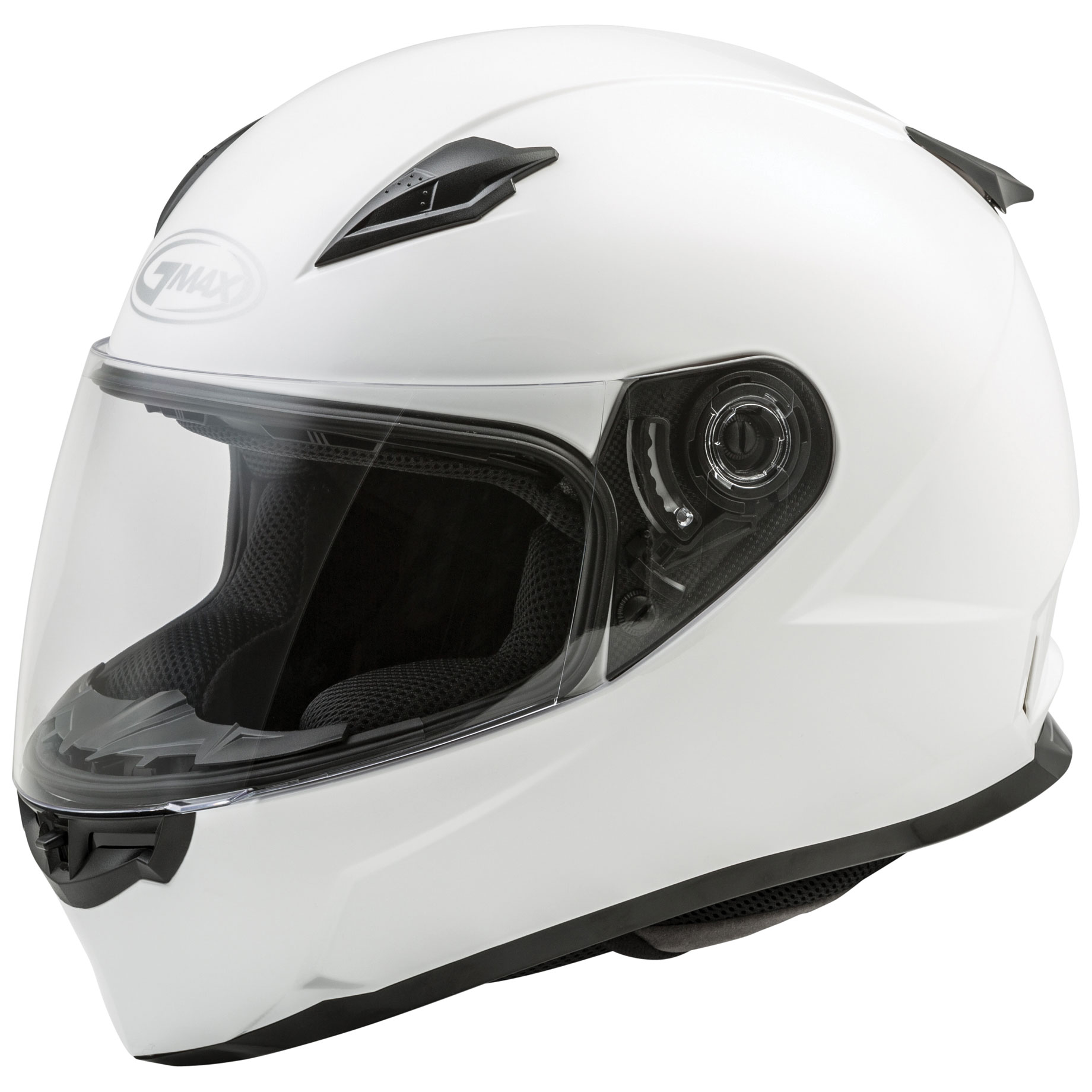 GMAX FF49 White Full Face Helmet