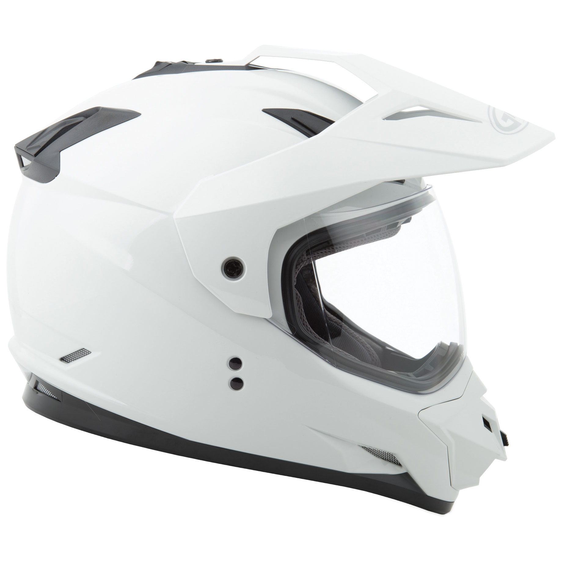 GMAX GM11 Dual Sport Solid Color Helmet