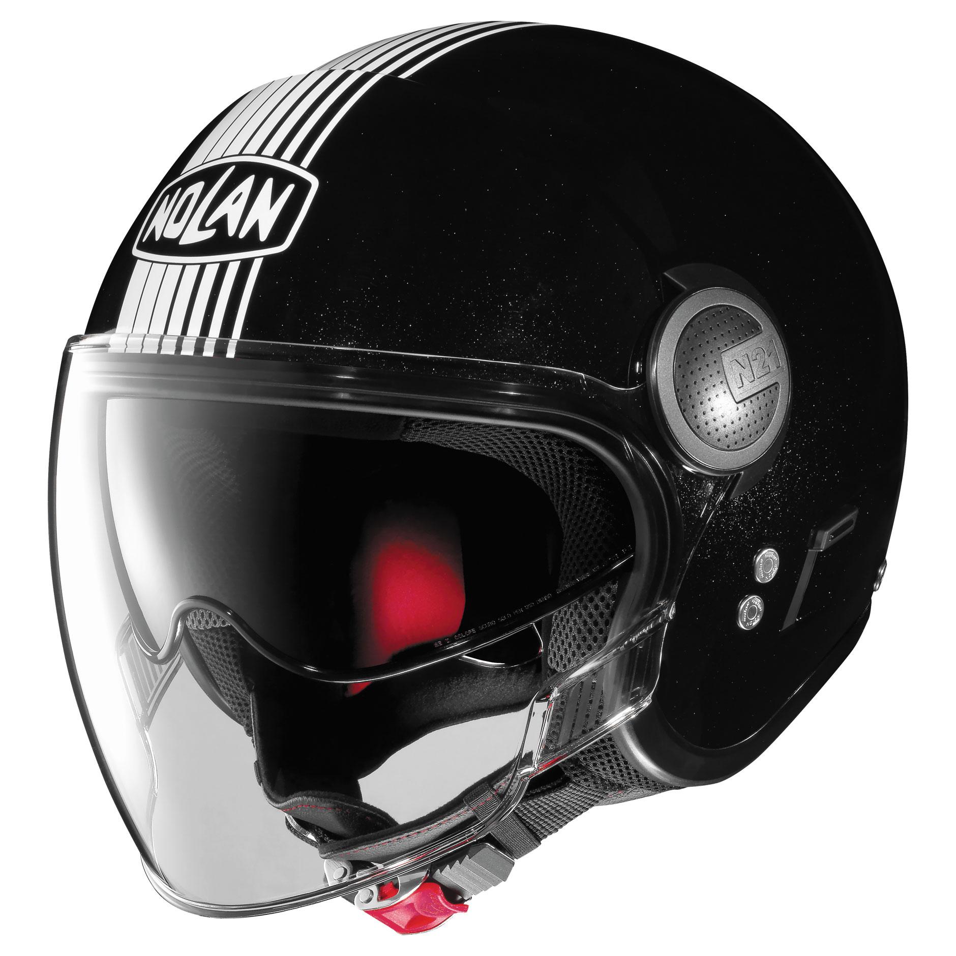 Nolan N21 Visor Joie De Vivre Black Open Face Helmet