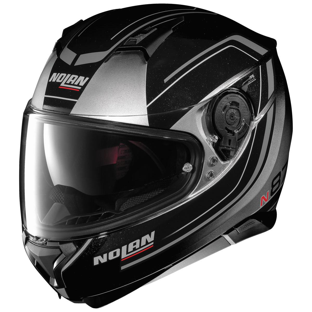 Nolan N87 Savior Faire Fade Silver Full Face Helmet