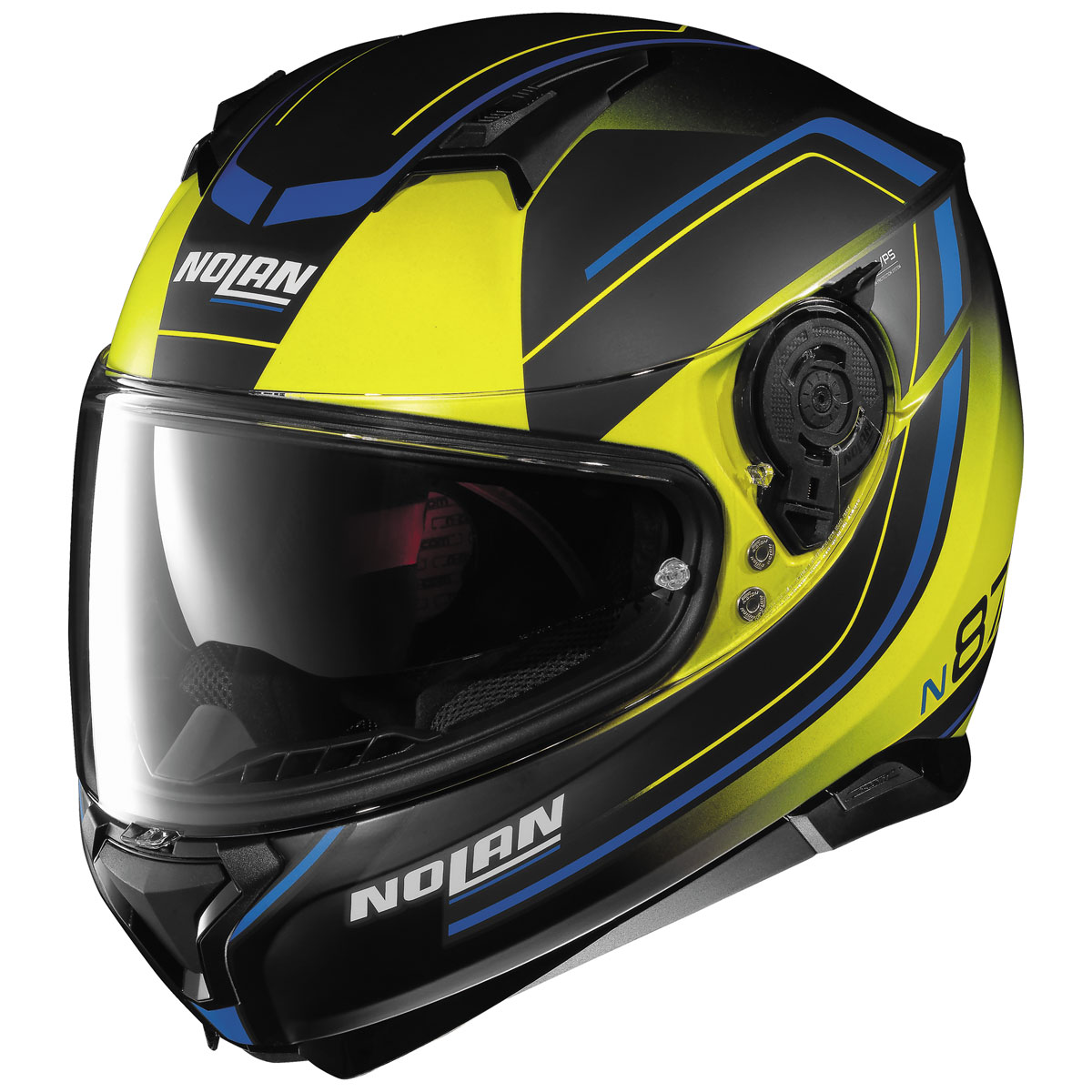 Nolan N87 Savior Faire Yellow Full Face Helmet