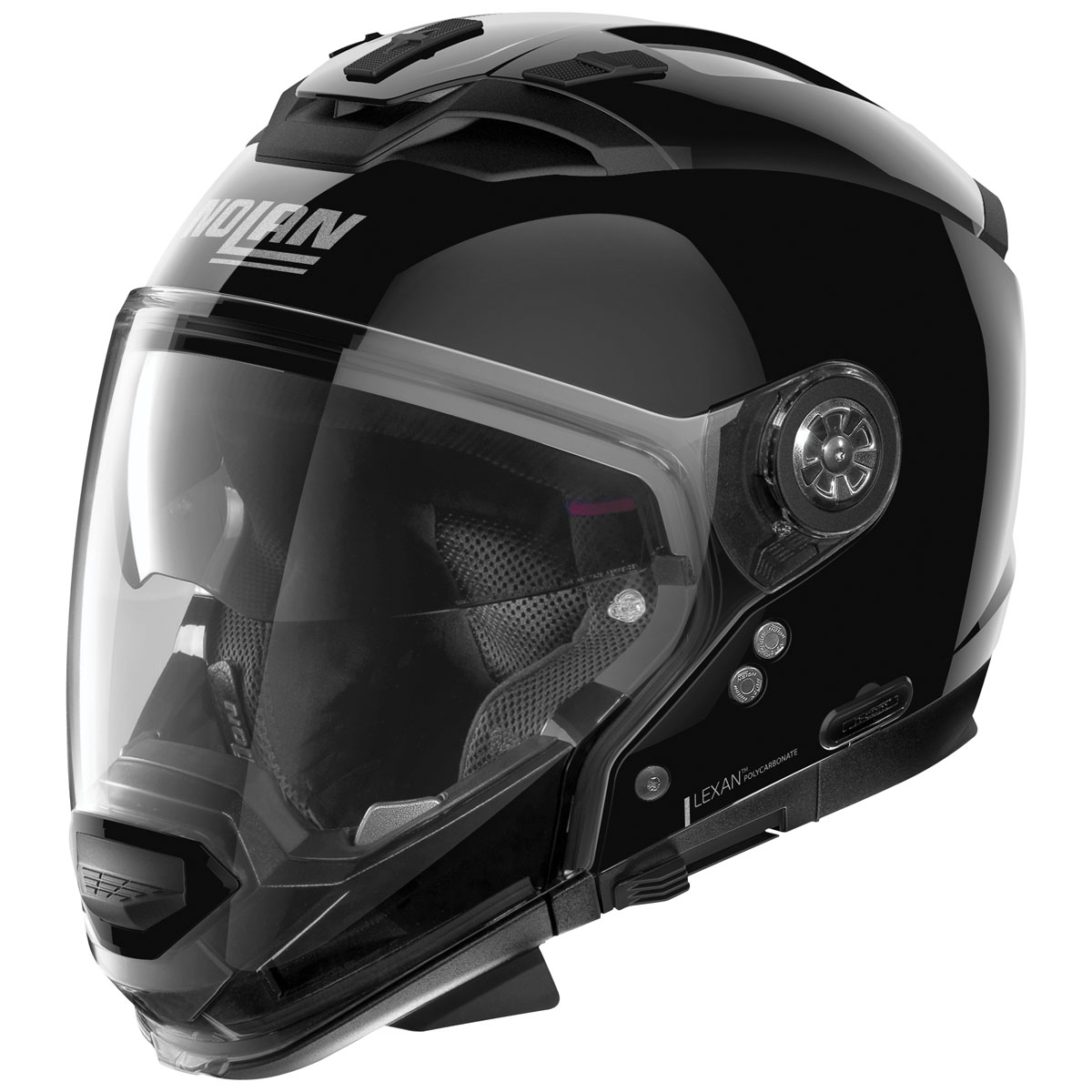 Nolan N70-2 GT Gloss Black Modular Helmet