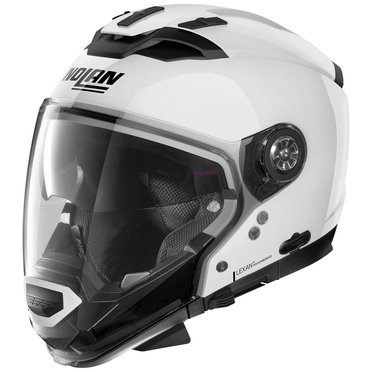 Nolan N70-2 GT Metal White Modular Helmet