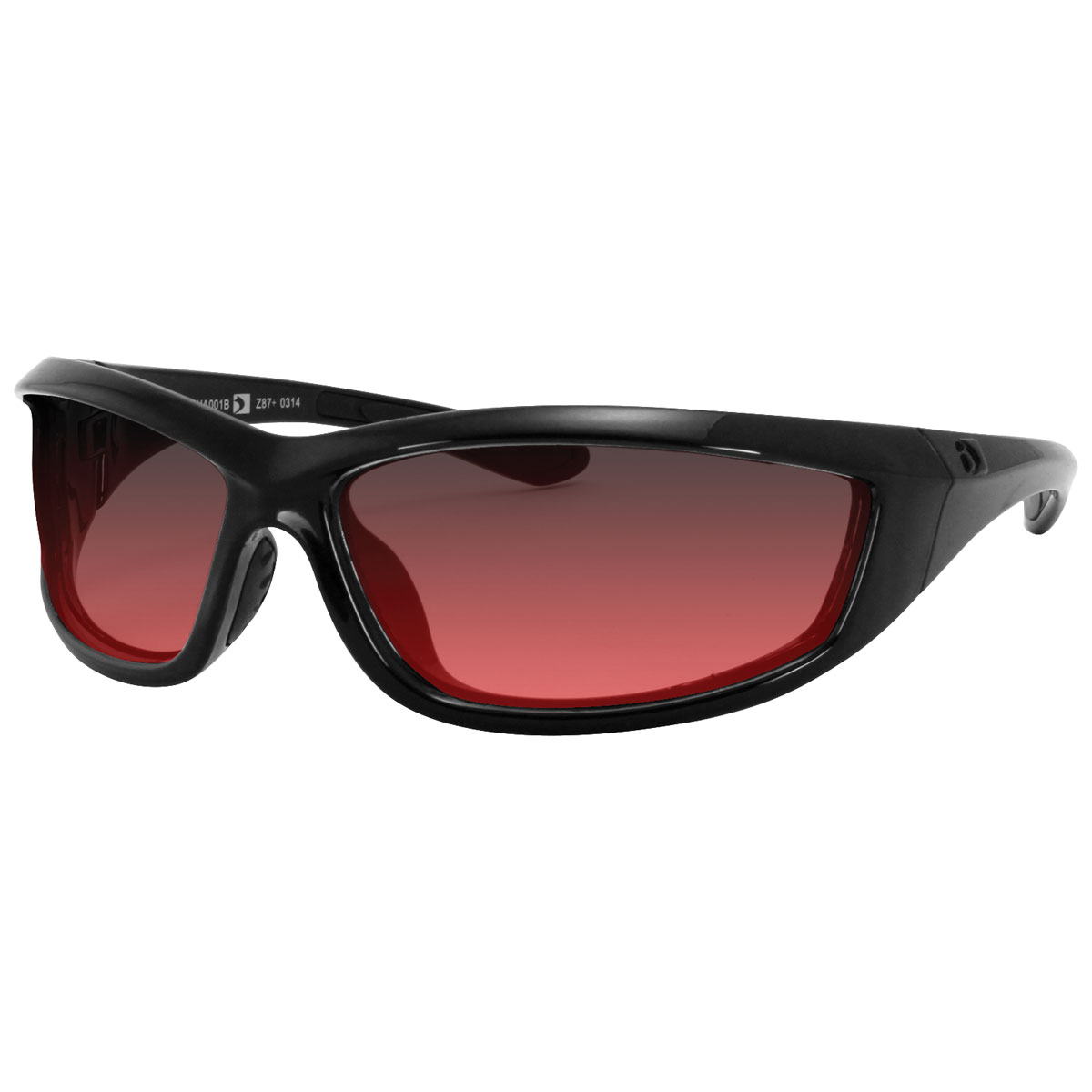 Bobster Charger Sunglasses with Rose Lens
