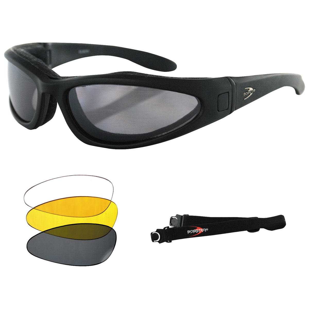 Bobster Lowrider II Convertible and Interchangeable Sunglasses