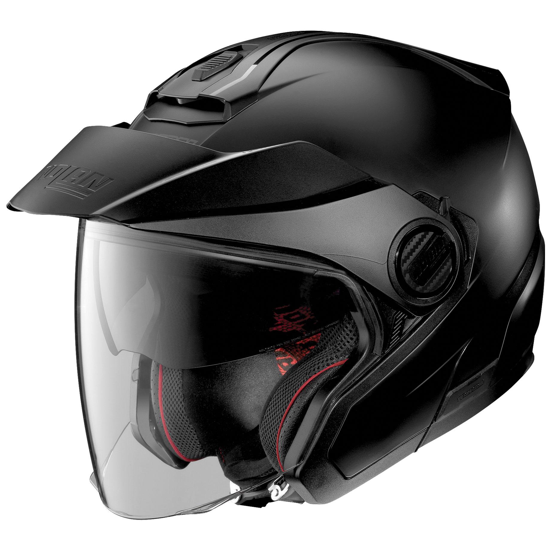 Nolan N40-5 Flat Black Open Face Helmet