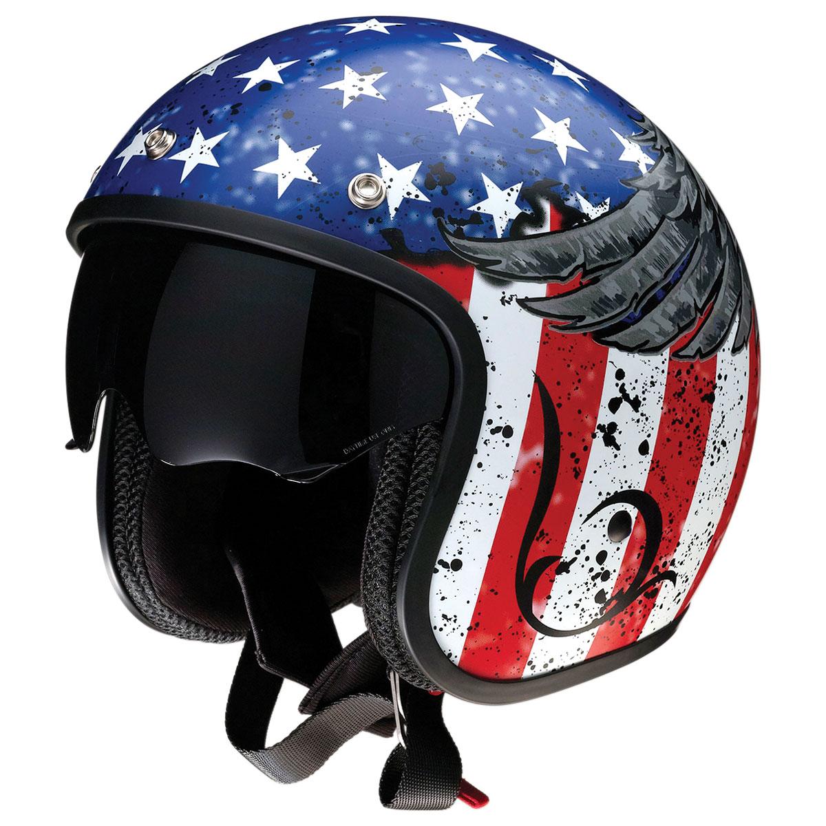 Z1R Saturn Justice Open Face Helmet