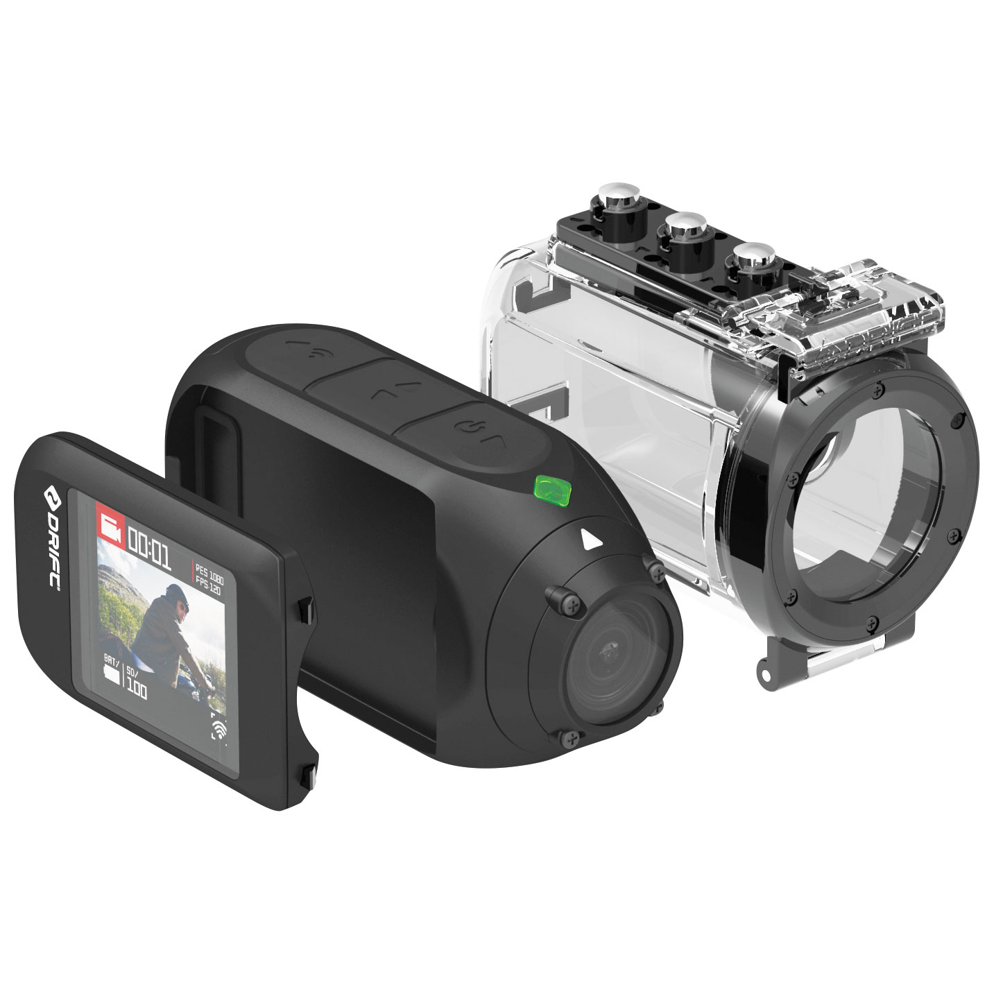 Drift Ghost 4K Action Camera Pack
