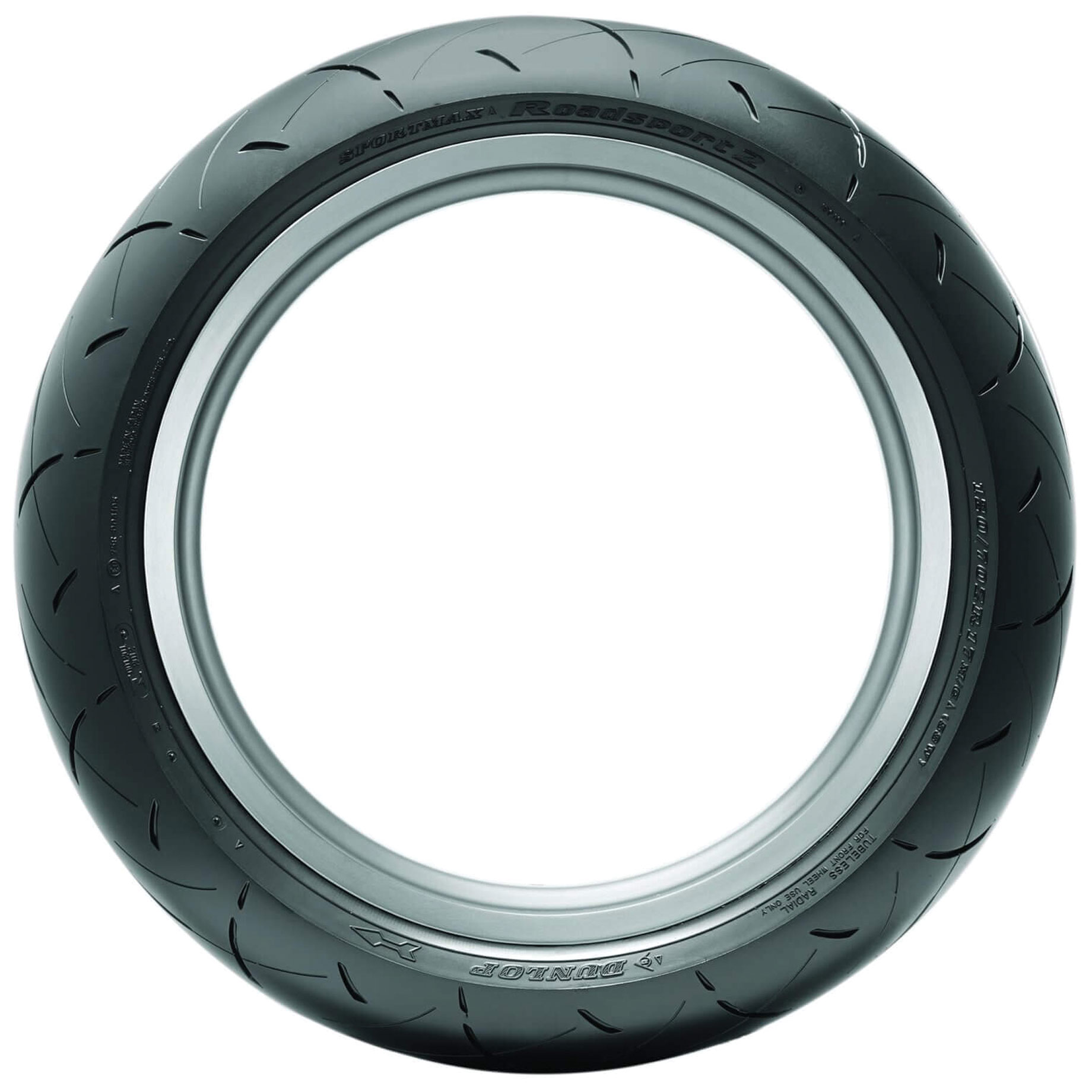 120//70ZR-18 Dunlop Roadsmart ll Sport Touring Radial Front Tire