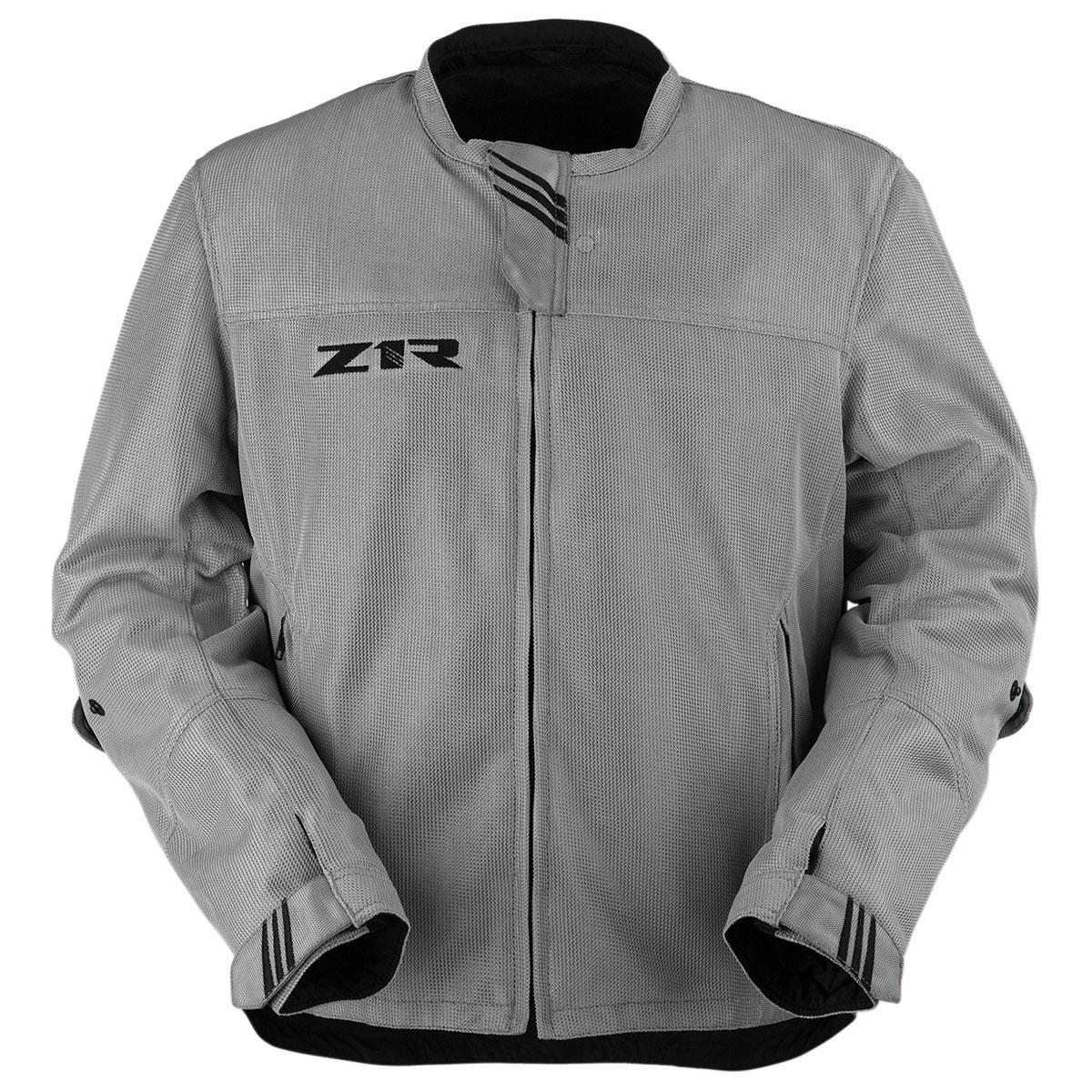 Z1R Men's Gust Silver Mesh Jacket