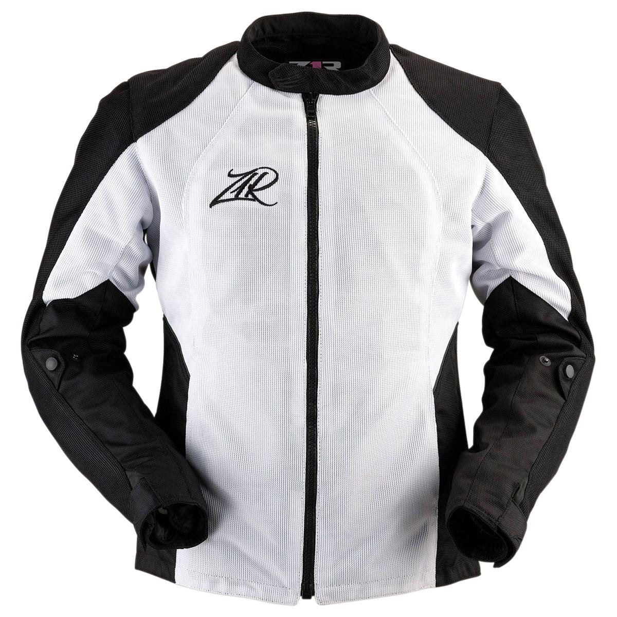 Z1R Women's Gust Black/White Mesh Jacket