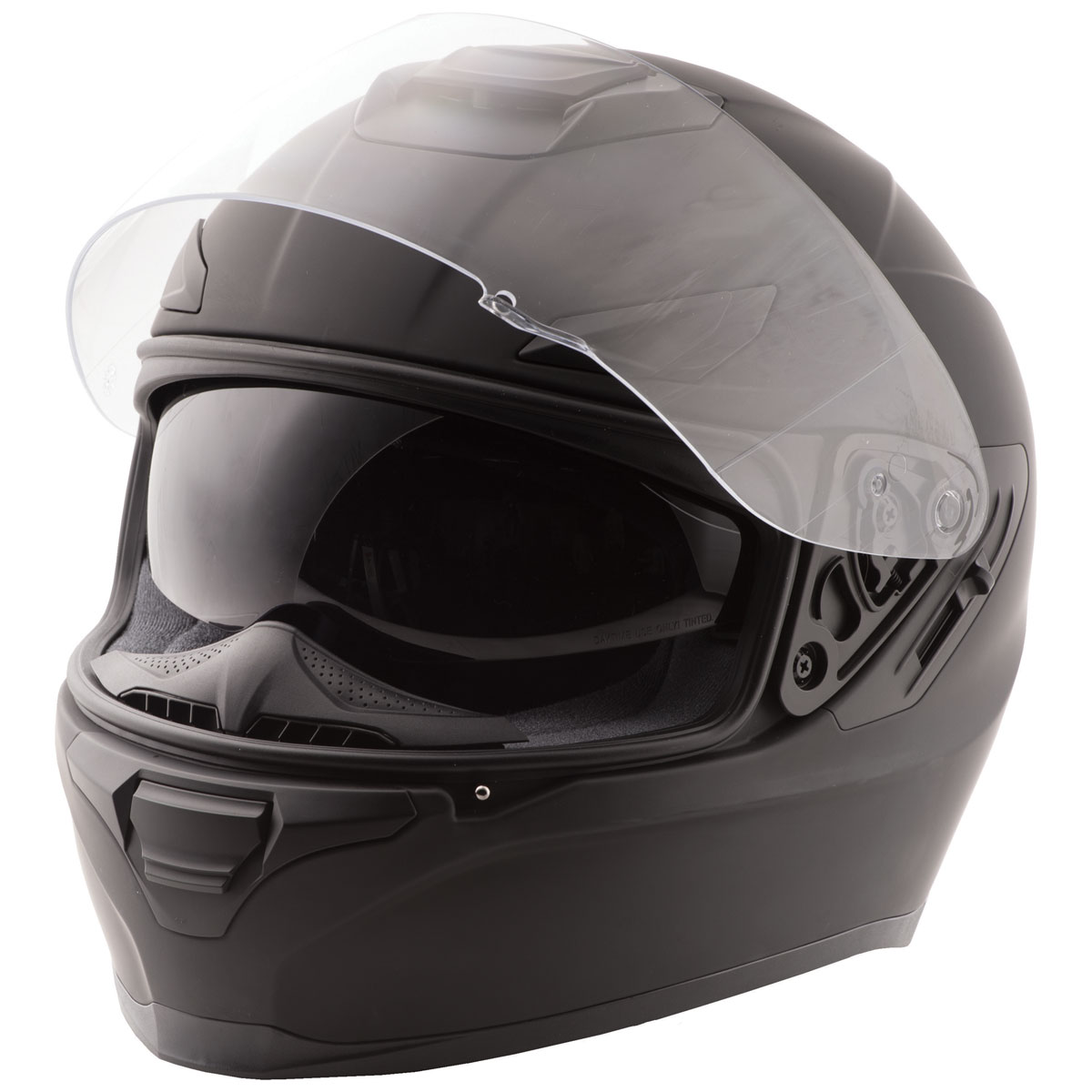FLY Racing Street Sentinel Matte Black Full Face Helmet