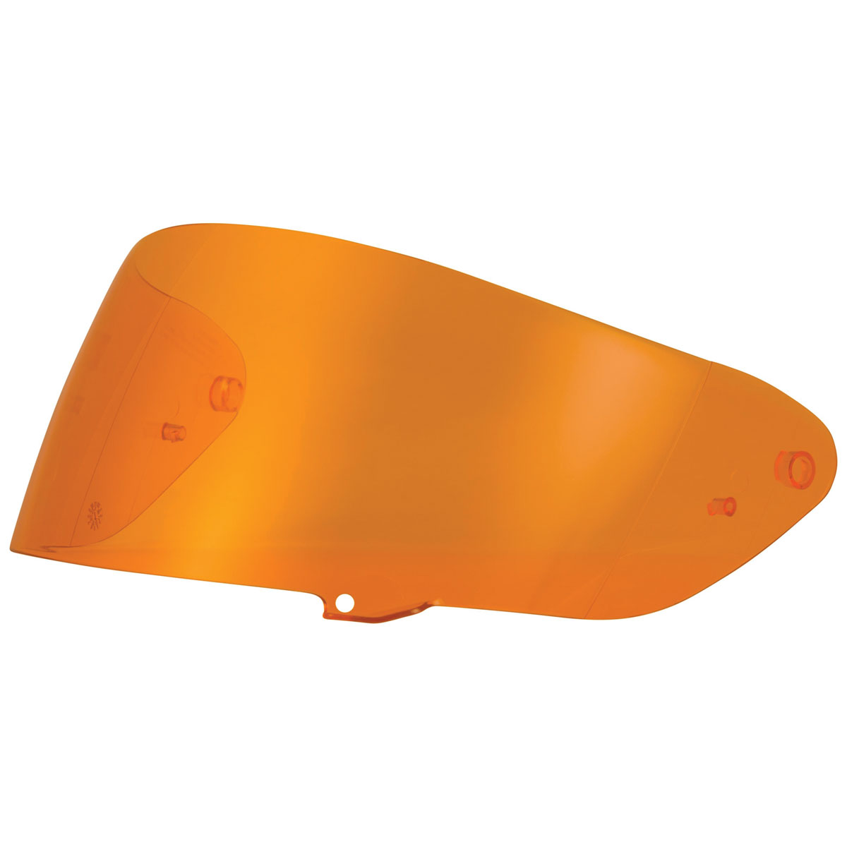 FLY Racing Street Sentinel Amber Mirror Face Shield