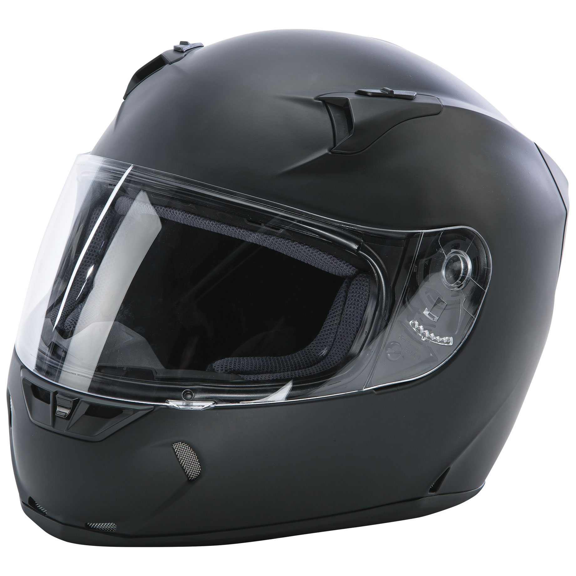 FLY Racing Street Revolt FS Matte Black Full Face Helmet