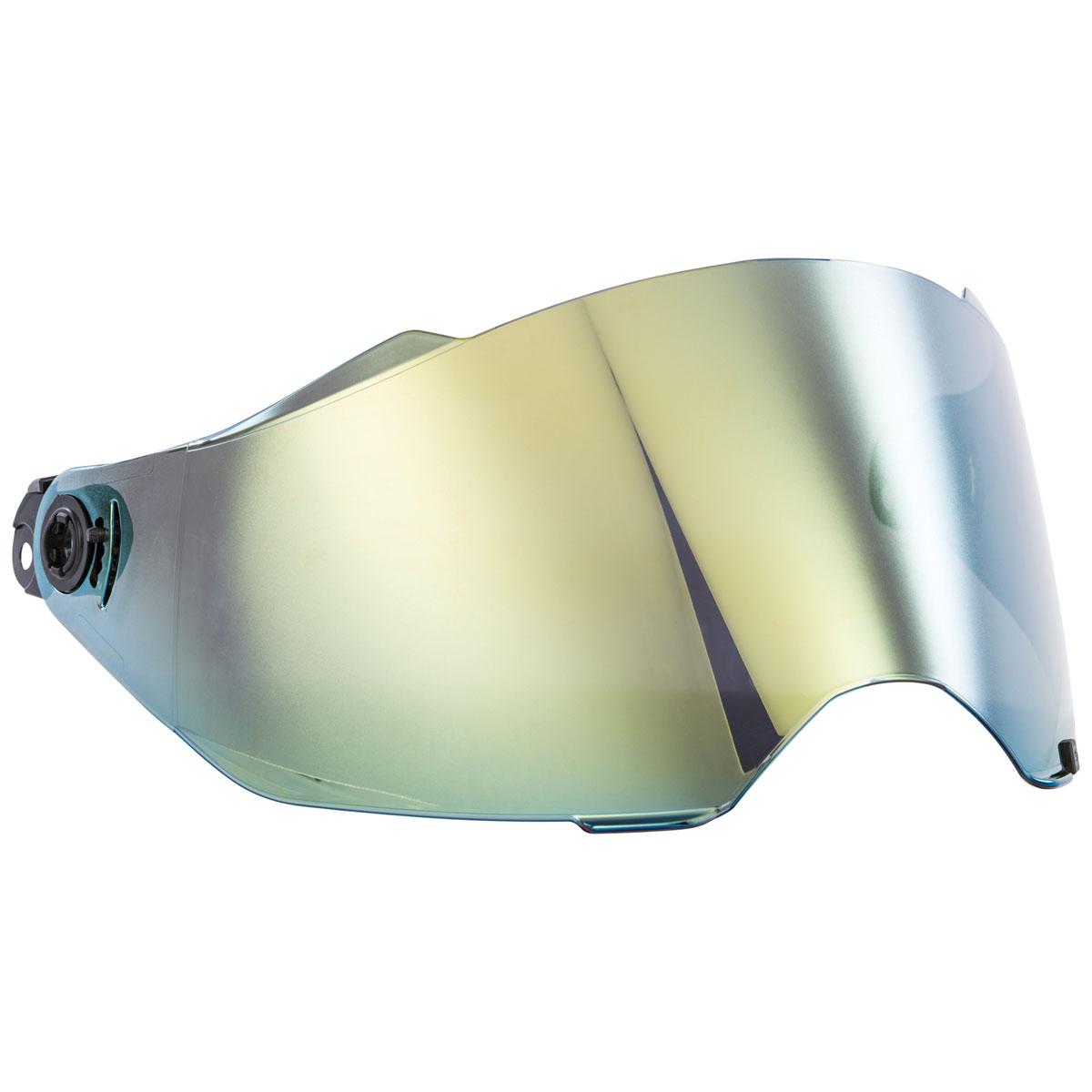 FLY Racing Street Trekker Gold Mirror Face Shield