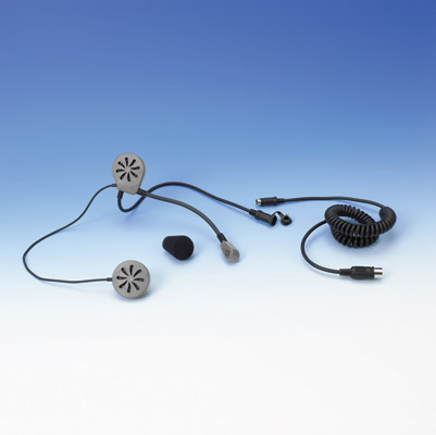 Show Chrome Accessories Helmet Headset 5-Pin Din - 13-201 on