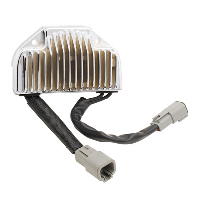 ACCEL Electronic Voltage Regulator Chrome