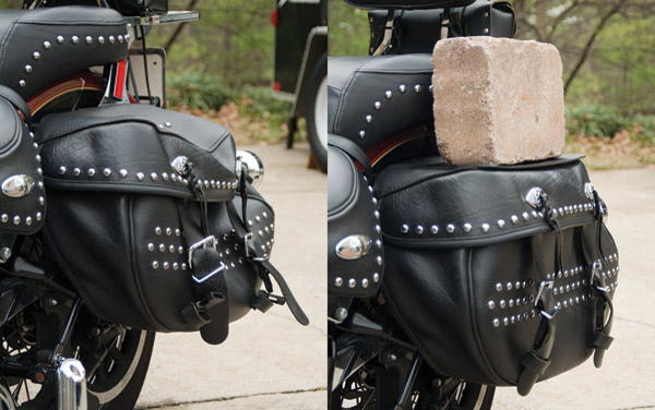 Ride Solutionz Bag Iron Saddlebag System