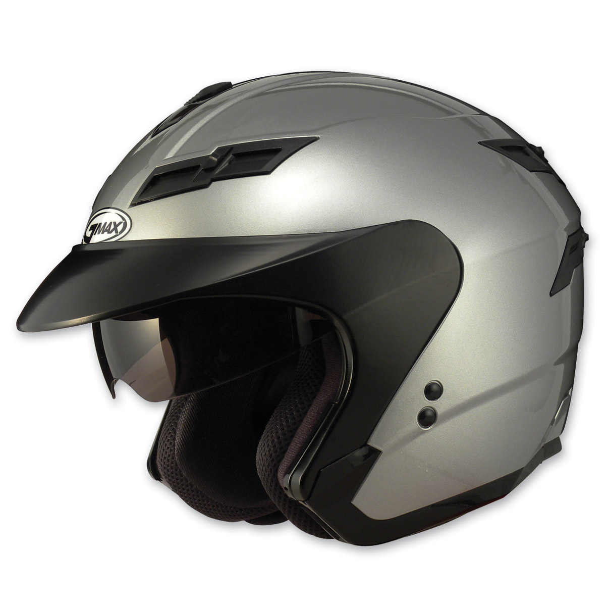 GMAX GM67 Titanium Open Face Helmet