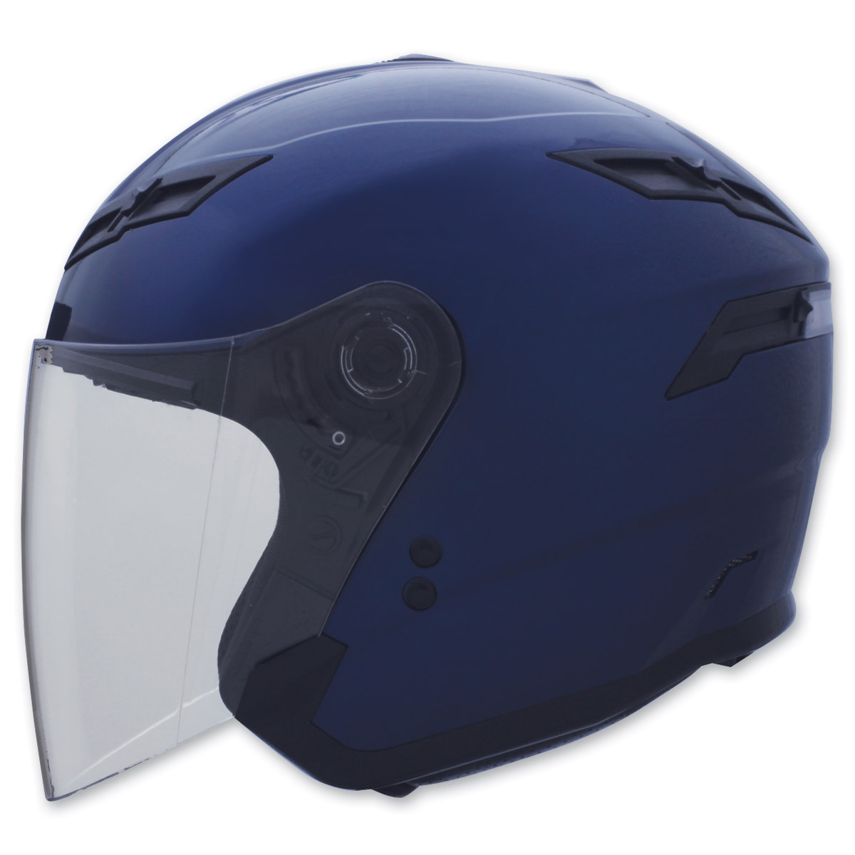 GMAX GM67 Blue Open Face Helmet