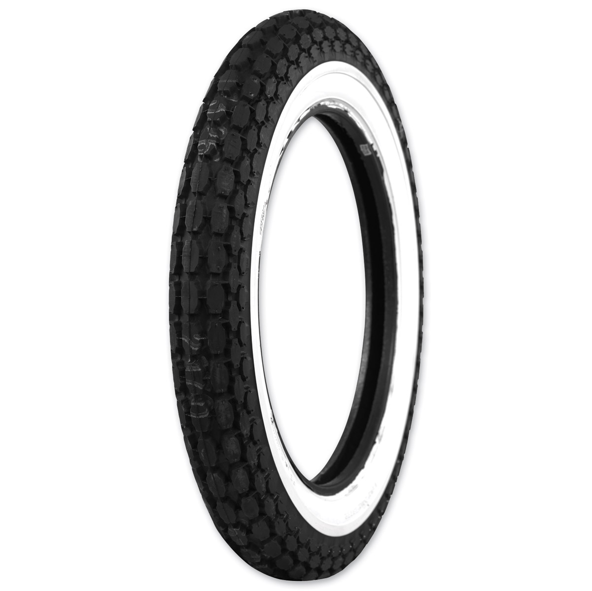 Coker 4.00-18 Wide Whitewall Front/Rear Tire