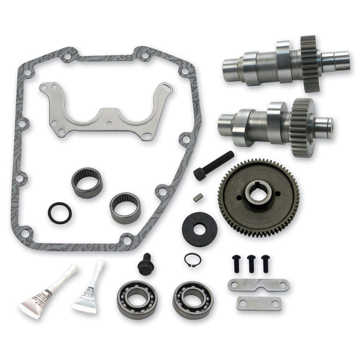 S&S Cycle Complete Gear Drive Camshaft 509G Cam Kit