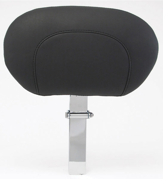 Mustang Removable Driver Backrest Black Studs