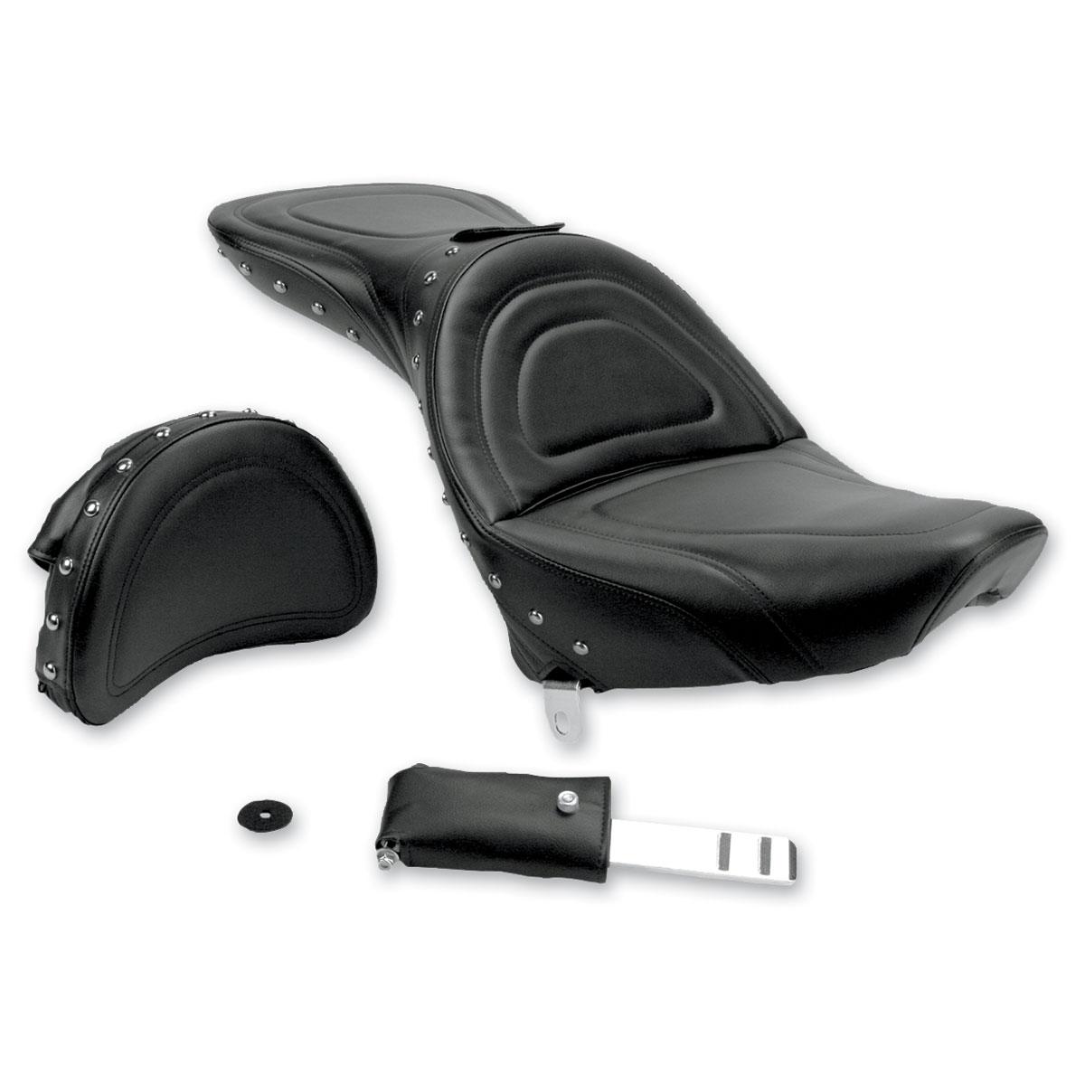 Saddlemen Explorer Special Studded Seat with Driver Backrest