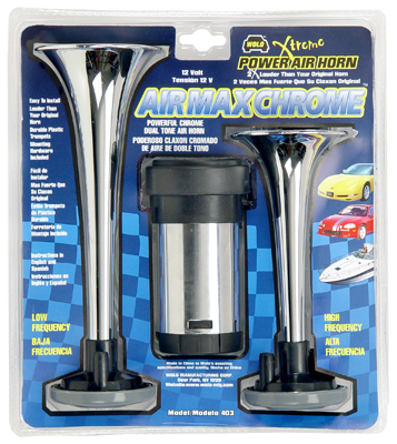 Wolo Air Max Plastic Chrome Air Horn