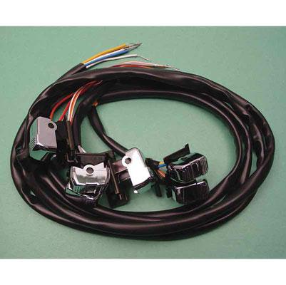 380 406_A v twin manufacturing handlebar wiring harness with switches 380 harley handlebar wiring harness at bayanpartner.co
