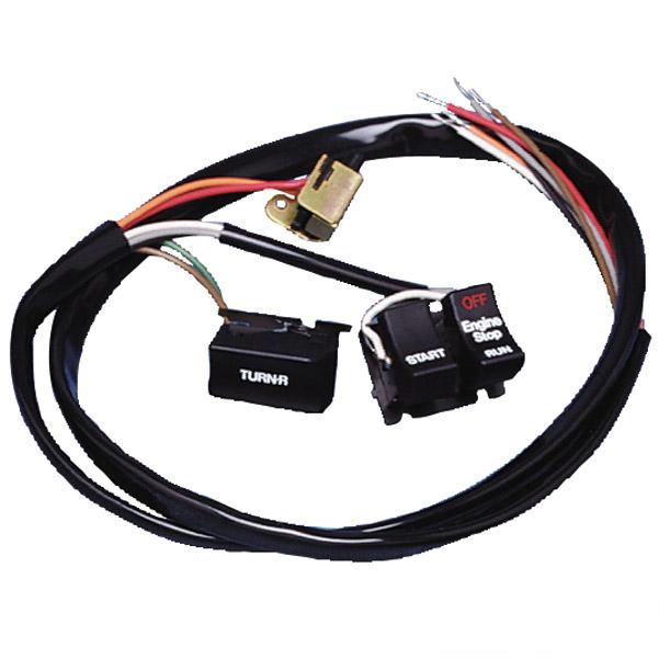 05 v rod handlebar wiring diagram handlebar wiring harness with switches | 380-510 | j&p cycles handlebar wiring harness
