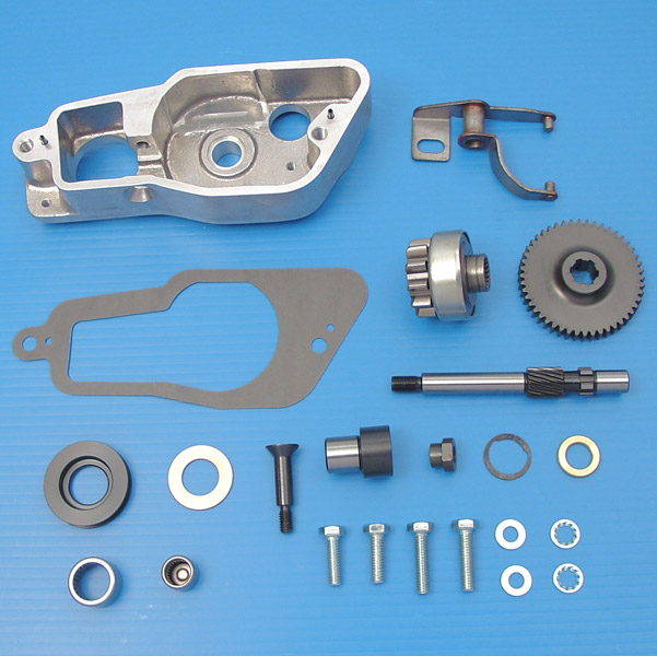 V-Twin Manufacturing Electric Starter Assembly Kit