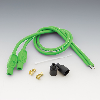 Sumax Hot Green 8mm Custom Colored Spark Plug Wire Set