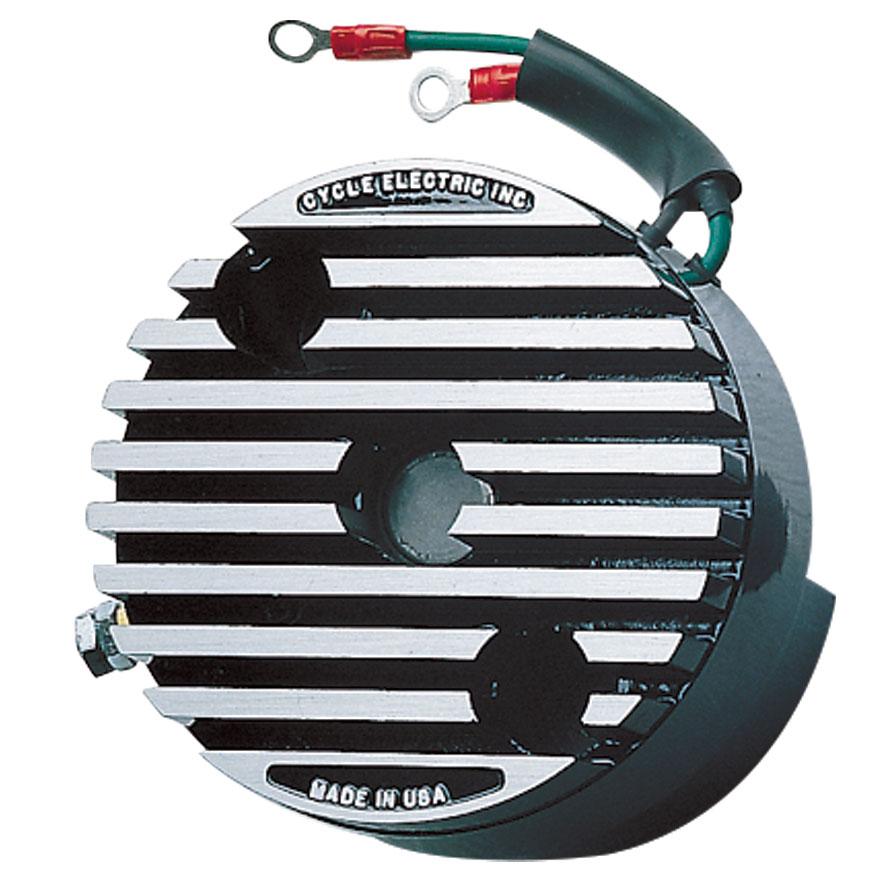 Cycle Electric 12-Volt Generator Mounted Regulator