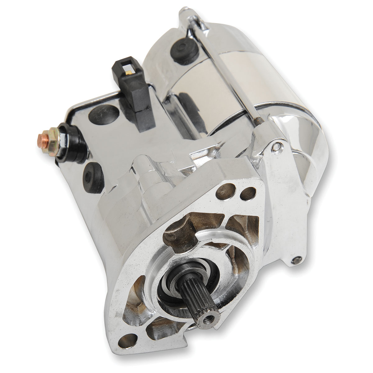 Terry Components 1.4 kW Starter Motor Chrome