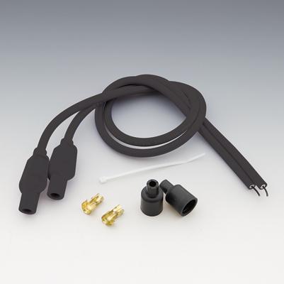 Sumax Black 8mm Universal Custom Colored Spark Plug Wire Set