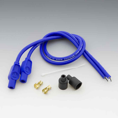 Taylor Custom Colored Blue 8mm Plug Wires