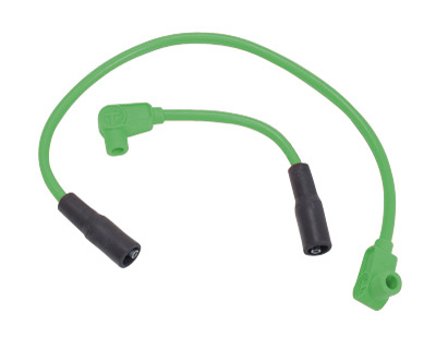 Taylor Custom Colored Green 8mm Plug Wires