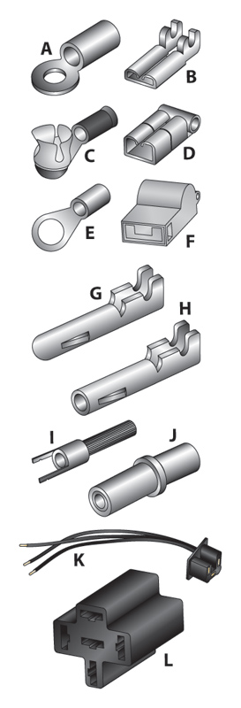 J&P Cycles® Wiring Pins