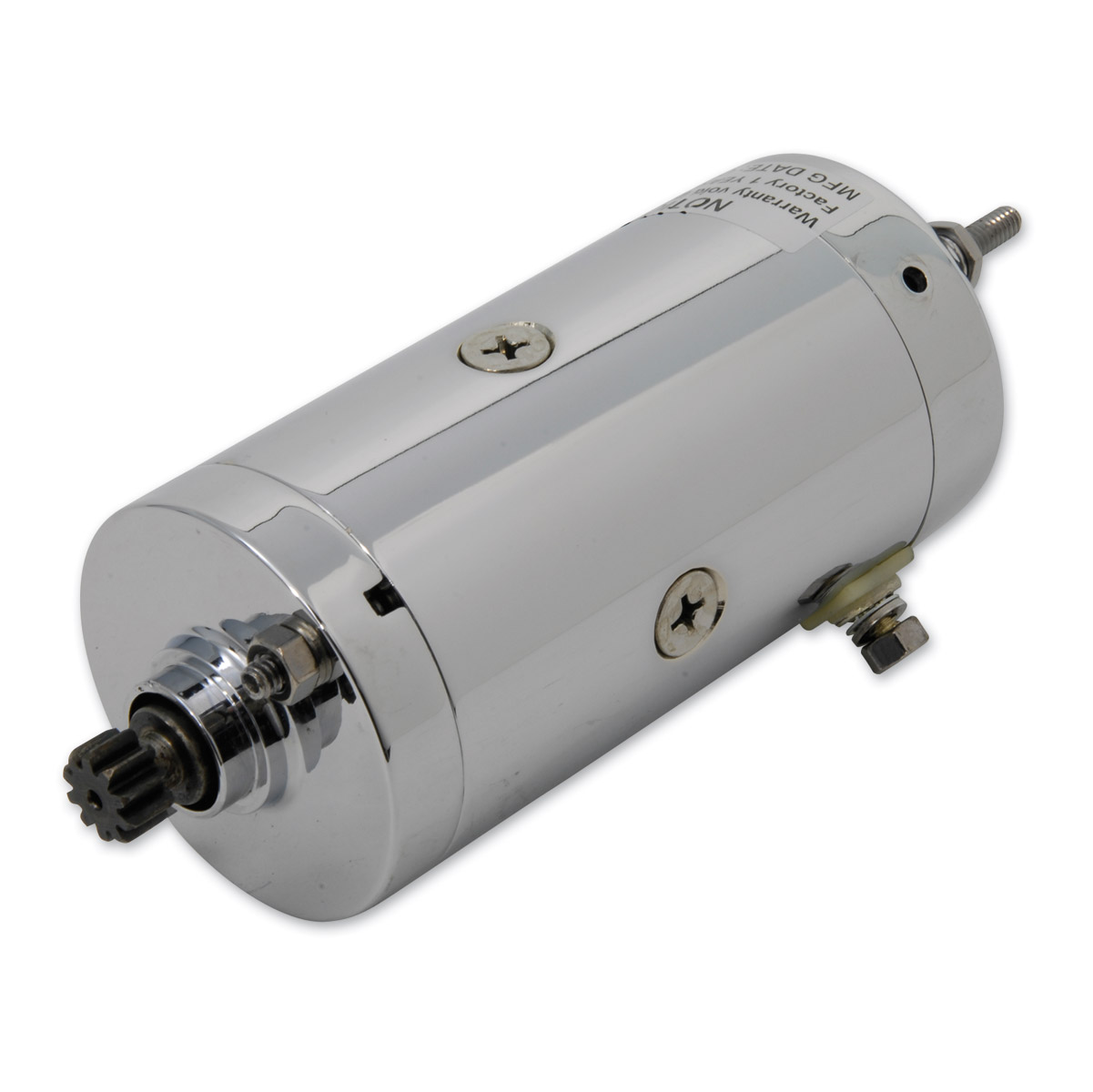 Prestolite Chrome Starter Motor Assembly