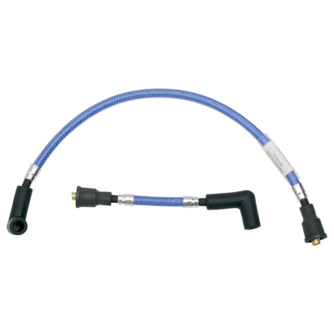 Magnum Sterling Chromite II Blue 8mm Braided Spark Plug Wire Set