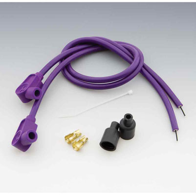 Taylor Custom Colored Purple 8mm Plug Wires
