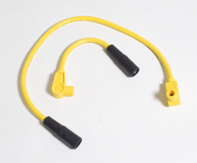 Taylor Custom Colored Yellow 8mm Plug Wires