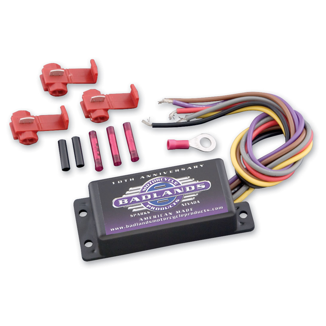 Badlands Turn Signal Shut Off Module Iii 381 554 Jp Cycles Heated Grips For Goldwing Wiring Diagram