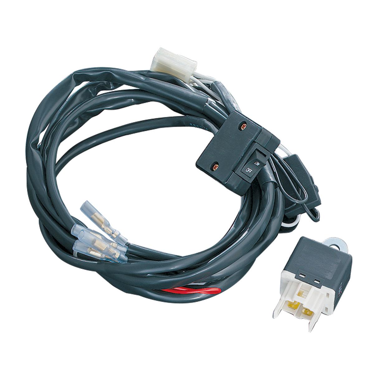 Kuryakyn Universal Wiring and Relay Kit - 2328 | JPCycles.com on wiper switch wiring, universal wiring harness, universal fuel gauge wiring, universal tail light wiring, dimmer switch wiring, fuel pump wiring,